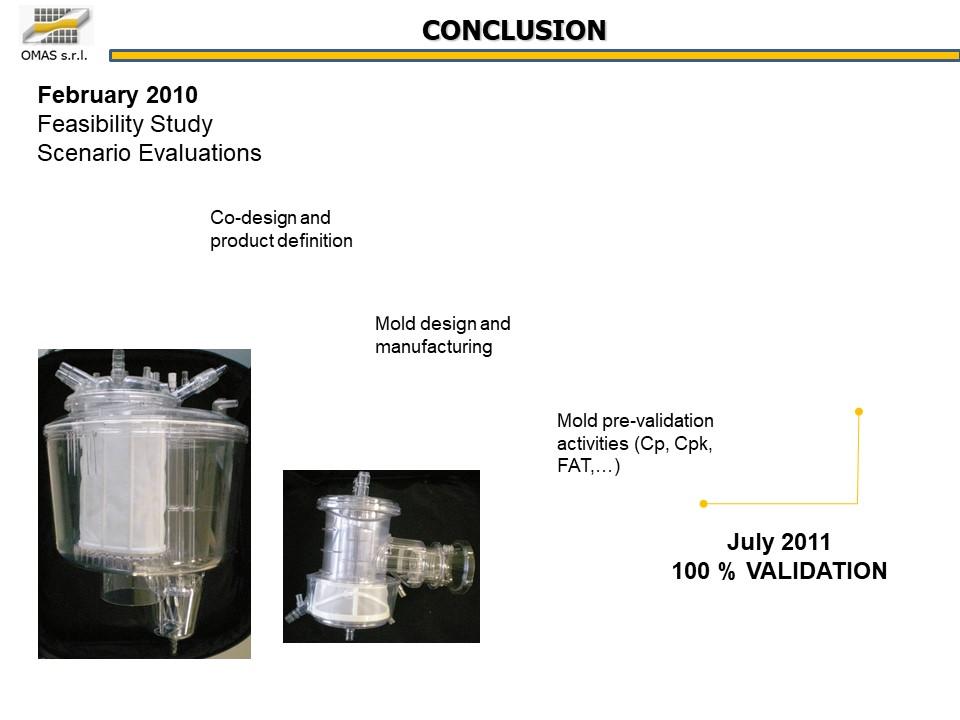 Industrialisation d'un oxygénateur pour le biomédical